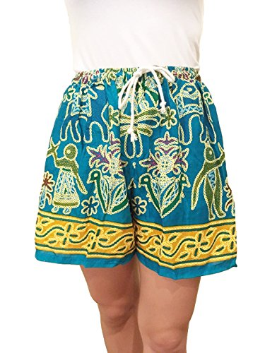 Alek...Shop Graphic Pattern Shorts For Women Hot Pants Summer Casual Beach & Jogging - Hours Of River Shops Grand