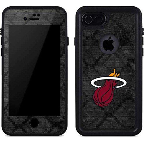 (Miami Heat iPhone 8 Case - Miami Heat Dark Rust   NBA X Skinit Waterproof Case)