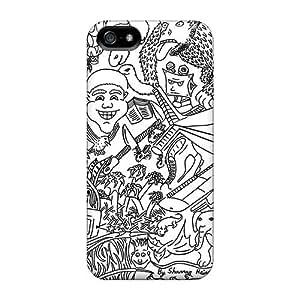 Protector Hard Phone Cover For Apple Iphone 5/5s With Custom Nice Cartoon Movie 2014 Pattern LisaSwinburnson