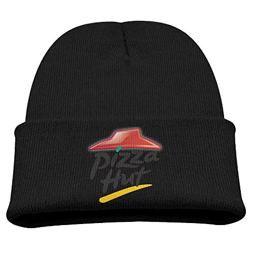 superff-kids-pizza-hut-logo-beanie-cap-knit-cap-woolen-hat
