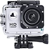 Oback(TM) 2.0 Inch Full HD 1080p Sport Action Camcorder 170°Wide-angle Glass Len Mini Waterproof Diving Sports Video Camera