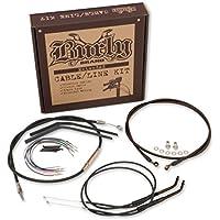 Burly B30-1020 Cable/Brake Line Kit for 18 Height Apehanger Handlebars