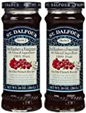 St. Dalfour All Natural Fruit Spread Red Raspberry and Pomegranate -- 10 oz