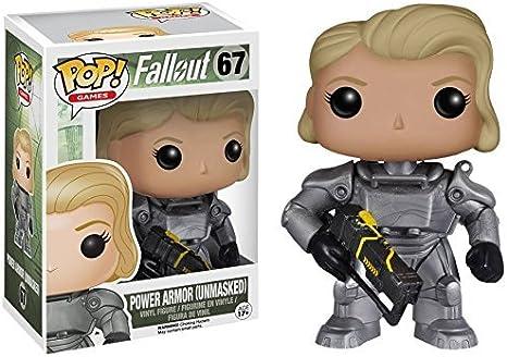 Fallout - 4 - Female Power Armor Unmasked Vinyl Figure 67 ...