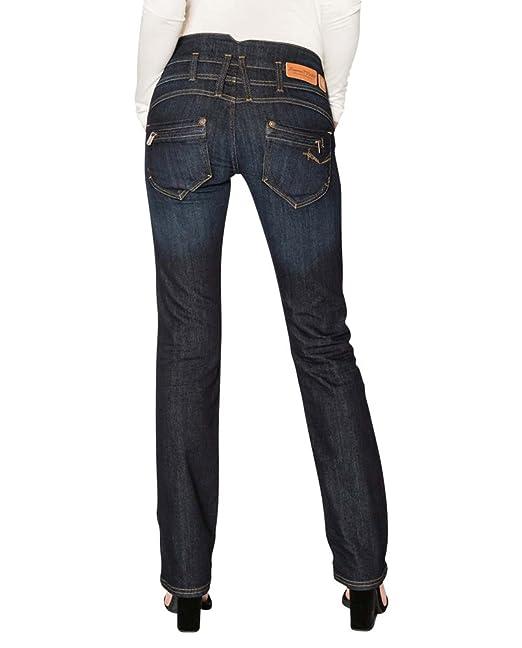 5fa9f0e6575095 Freeman T Porter Amelie Stretch Denim Eclipse Jeans da Donna Blu 38/40 IT (