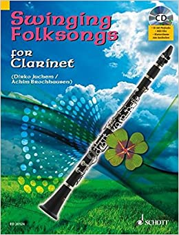 Swinging Folksongs For Clarinet Cd Mit Playbacks Und