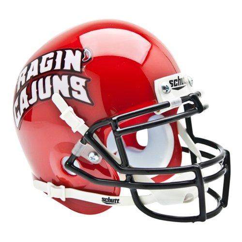 Mini Cajuns Helmet Ragin Replica - Louisiana Lafayette Ragin Cajuns NCAA Authentic Mini Replica Helmet