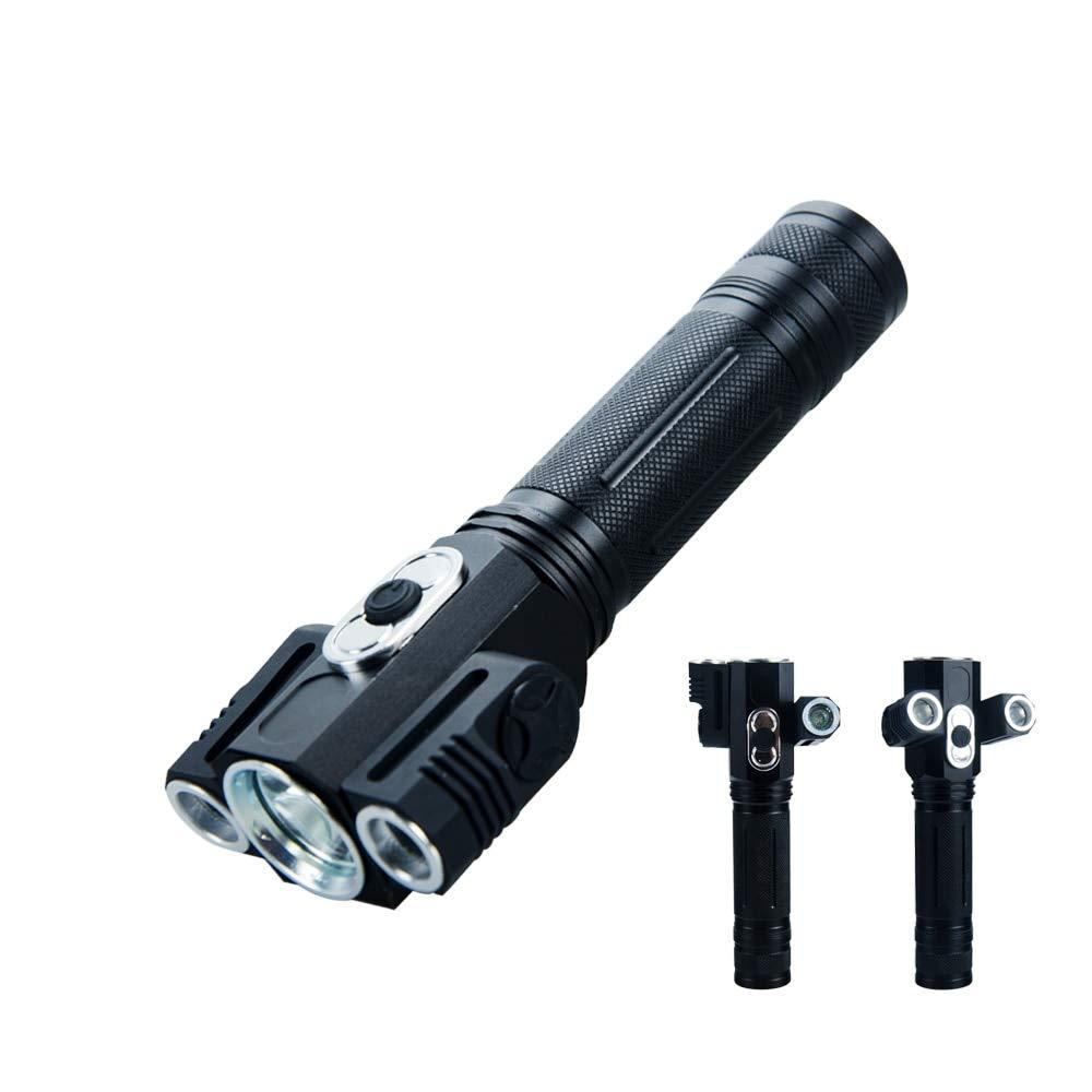 High Power LED Taschenlampe 3 LEDs Linterna LED Taschenlampe Taschenlampen Camping oder Zeltbeleuchtung Outdoor Wandern für 18650