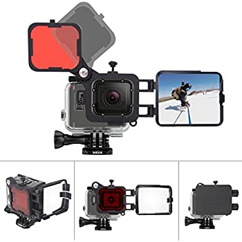 Amazon.com: PolarPro GoPro Hero6 / Hero5 Super Suit ...
