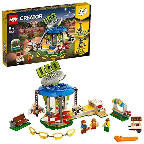 레고 (LEGO) 크리에이터 위 락 공간 타고 31095 블록 장난감 여 아 소년 / LEGO Creator Amusement Park Space Ride 31095 Block Toy Girl Boys