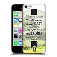 Head Case Designs What You Do Christian Typography Hard Back Case for Apple iPhone 5 / 5s / SE