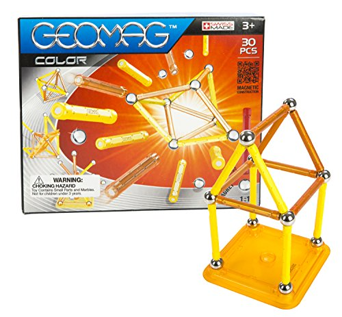 Geomag 30-Piece Color Construction Set with Assorted Panels ...