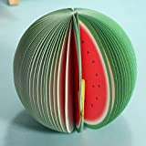 Bookmark Fruit Bloc Note Marque Papier Autocollant Signet Mémo Sticker melon d'eau