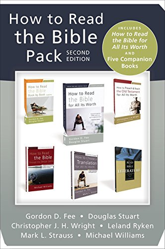 Download How to Read the Bible Pack, Second Edition: Includes How to Read the Bible for All Its Worth and Five Companion Books pdf