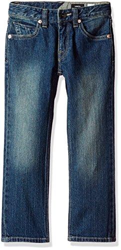 - Volcom Baby Little (4-7) Boys Vorta Jeans, Sandy Indigo 2T