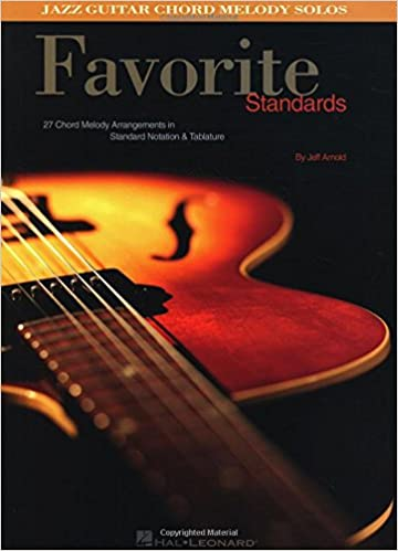 Amazon Favorite Standards Jazz Guitar Chord Melody Solos