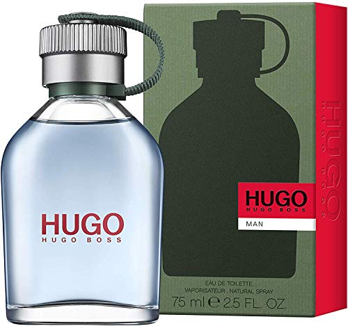 Hugo Boss MAN Eau de Toilette, 2.5 Fl Oz