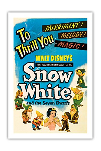 Pacifica Island Art Walt Disney's Snow White and the Seven