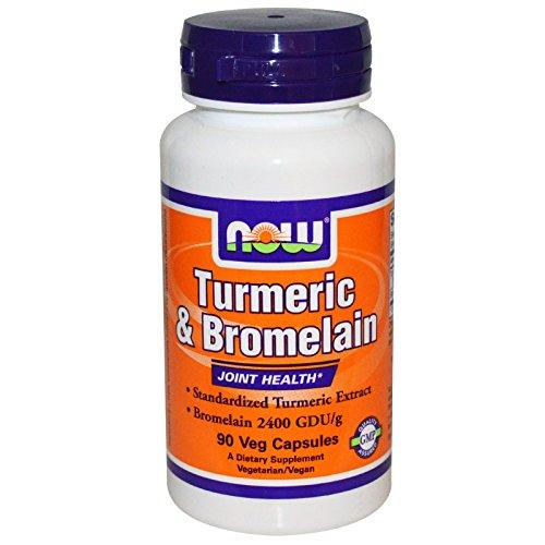 Foods Turmeric Bromelain Capsules Count 2