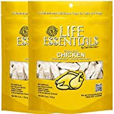All-Natural Freeze Dried Chicken Treats for Dogs & Cats Free of Grains, Fillers, Additives and Preservatives Proudly Made in the USA - 2 Pack (5 oz. Bag)