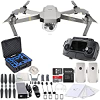 DJI Mavic Pro Platinum Collapsible Quadcopter Premium Essential Bundle