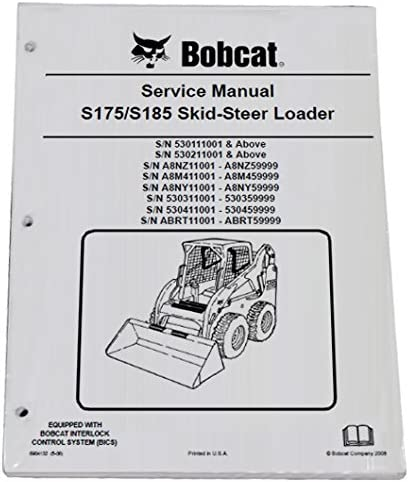 Tools & Equipment Bobcat S185 Skid Steer Repair Workshop Service ...
