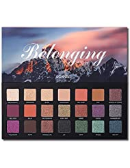 UCANBE 21 Colors Belonging Pigmented Eyeshadow Makeup...