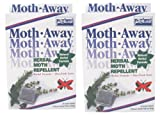 Safe HERBAL Moth AWAY repellent NON toxic NATURAL repellent: 24 count, pack of 2.