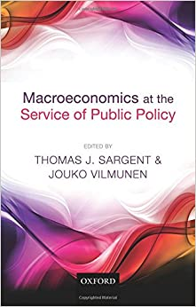 Book Macroeconomics at the Service of Public Policy