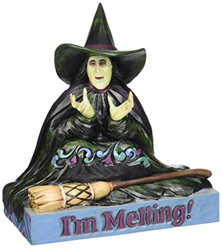 Jim Shore for Enesco The Wizard of Oz Melting Wicked Witch Figurine, 5.875-Inch