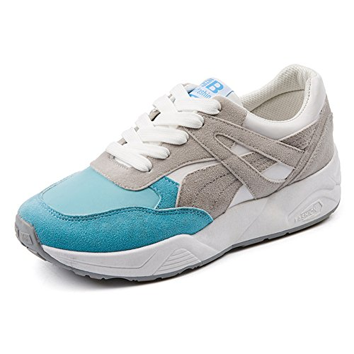 Women's BERTERI Blue Fashion Shoes Running Sneakers Athletic Walking Breathable Casual ddqzr