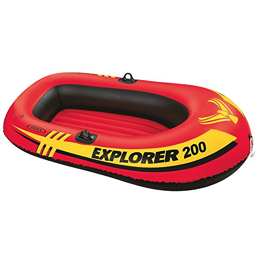 2 Person Canoe Inflatable - Intex Explorer 200, 2-Person Inflatable Boat