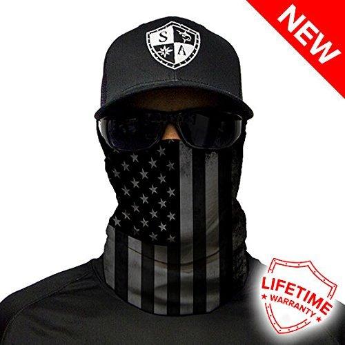 Salt Armour Face Shield | Blackout American Flag (2 Pack)