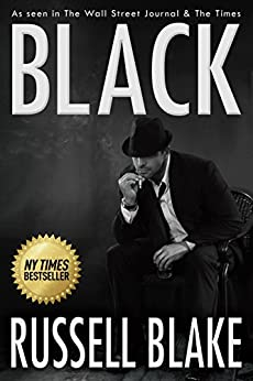 BLACK (Hard-boiled noir detective mystery) by [Blake, Russell]