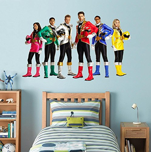 Attractive Power Rangers Super Megaforce Decal Graphic Wall Sticker Decor Art H12,  Large Part 15
