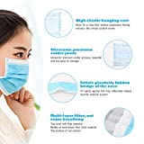 10PCS Disposable Face Masks, 3-Ply Earloop Mouth