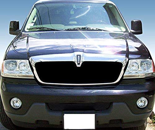 Lincoln Aviator Billet - ShopDone Fits 03-06 Lincoln Aviator Lower Bumper 1PC Replacement Black Billet Grille Grill Inser