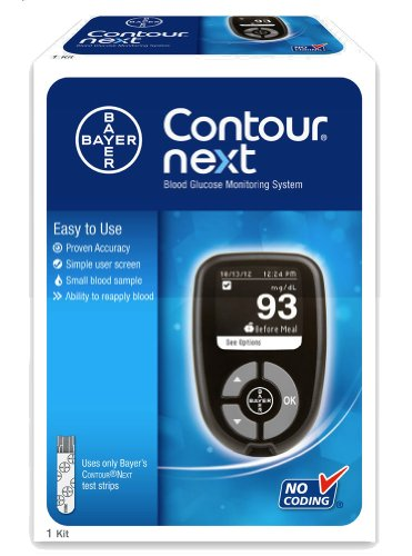 Bayer Contour Next High Blood Sugar Glucose Levels Monitorin