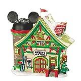 Disney Dept 56 Village Mickey's Ski and Skate Shop