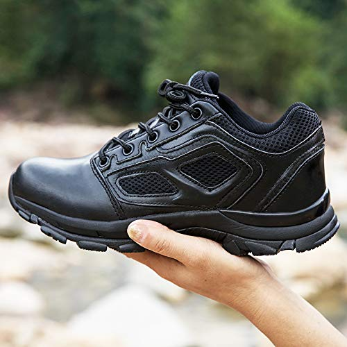 HCBYJ Schuhe Outdoor Taktische Stiefel Elite Schuhe Kampfstiefel leichte Kampfstiefel Stoßdämpfer für atmungsaktive Outdoorstiefel