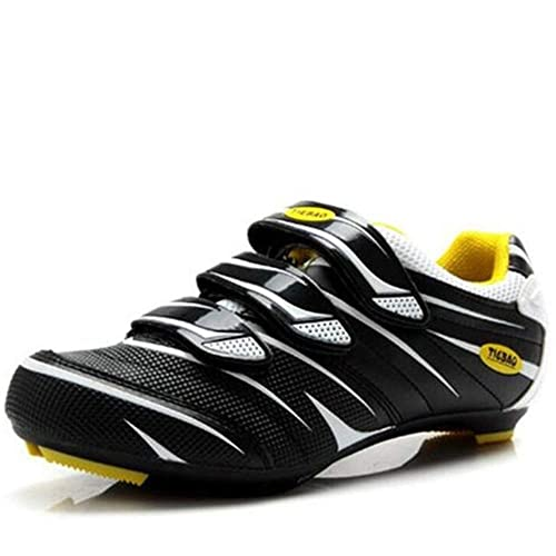 d4fb213aa7e Tiebao Men Road Cycling Shoes SPD Lock Pedal Bike Shoes Cleated Bicycle  Ciclismo Shoes(UK