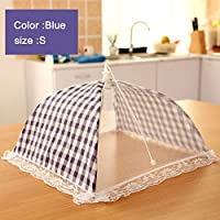 Tjackson Food Mesh Cover, Food Cover Tent Food Protector Net Tents,Pop Up Mesh Screen Food Cover Tent, Anti Fly Mosquito Umbrella Style Kitchen Tools