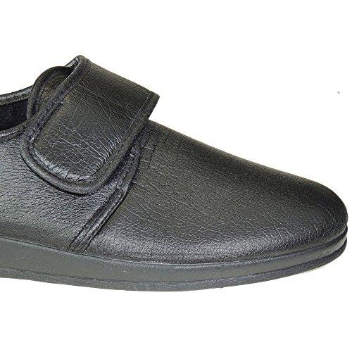 ROMERO - Zapatillas Sintética Calle, Tallas Grandes NEGRO