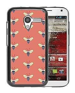 Fossil 35 Black Motorola Moto X Cover Case Fashion and Durable Custom Designed