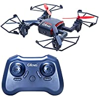 GTENG T901C RC Drone Four-axis RC Aircraft with 720P HD 2MP Camera Headless Mode Quadcopter without Altitude Hold ( USB Charger)