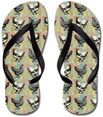 Lplpol Baby Chickens Flip Flops for Kids and Adult Unisex Beach Sandals Pool Shoes Party Slippers