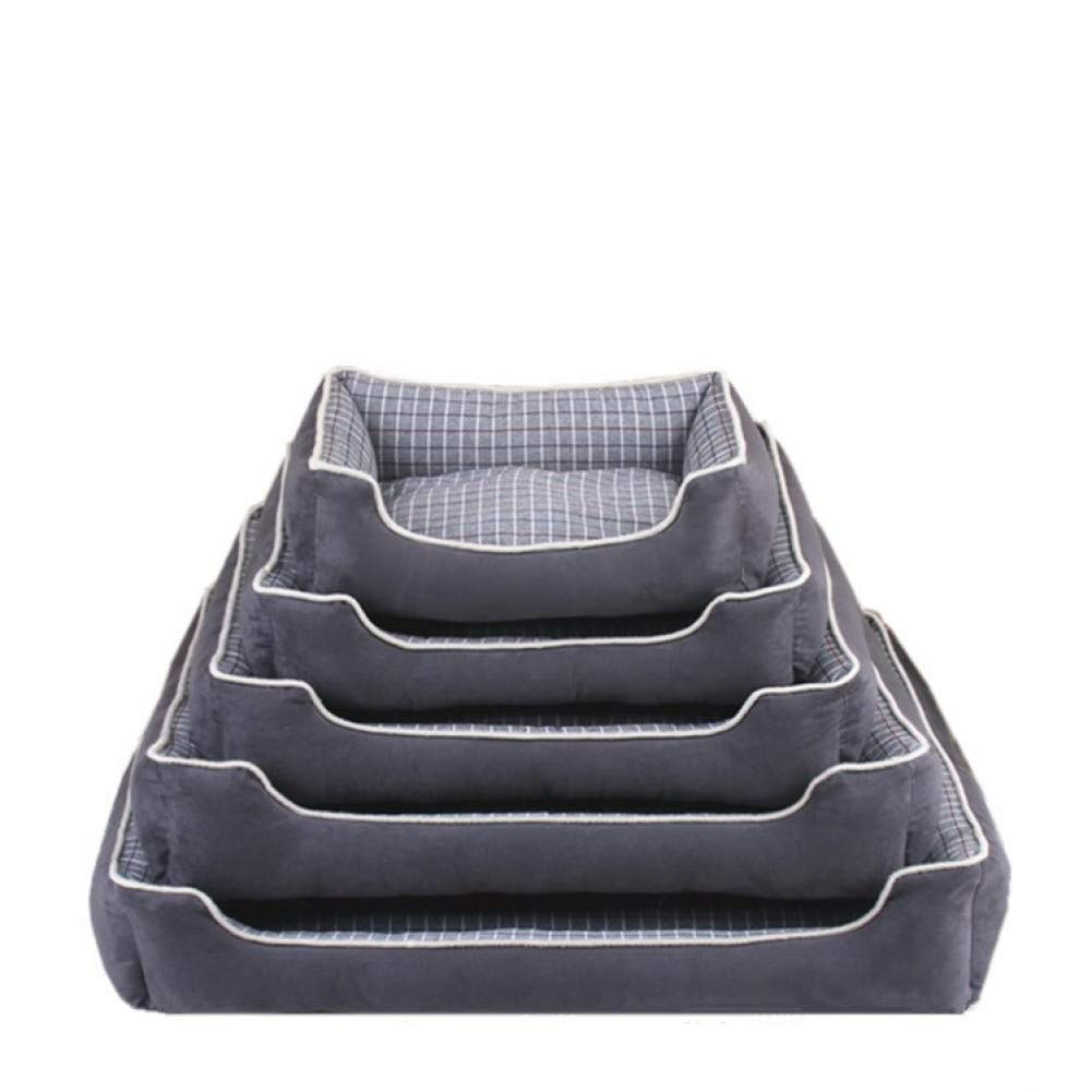 black XL CZHCFF Puppy bed dog bed sofa kennel house dog puppy cat house