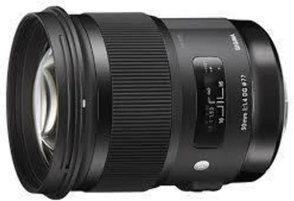 Sigma 50mm F1.4 DG HSM Art Lens for Sony Alpha Cameras - International Version (No Warranty)