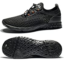 Alibress Unisex Water Shoes-Quick Dry Sports Aqua Shoes Lightweight for Swimming Yoga Beach Driving Boating Pool Exercise