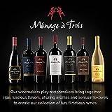 Menage A Trois California Red Wine, 750 ml
